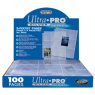 Ultra Pro Silver 9 Pocket Pages