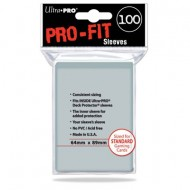 Sleeves Pro-Fit Clear Standard C100