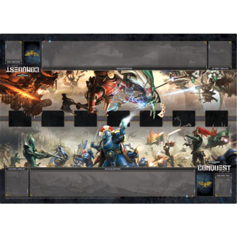 Warhammer 40k Conquest Playmat Unending War Buy Battlegames