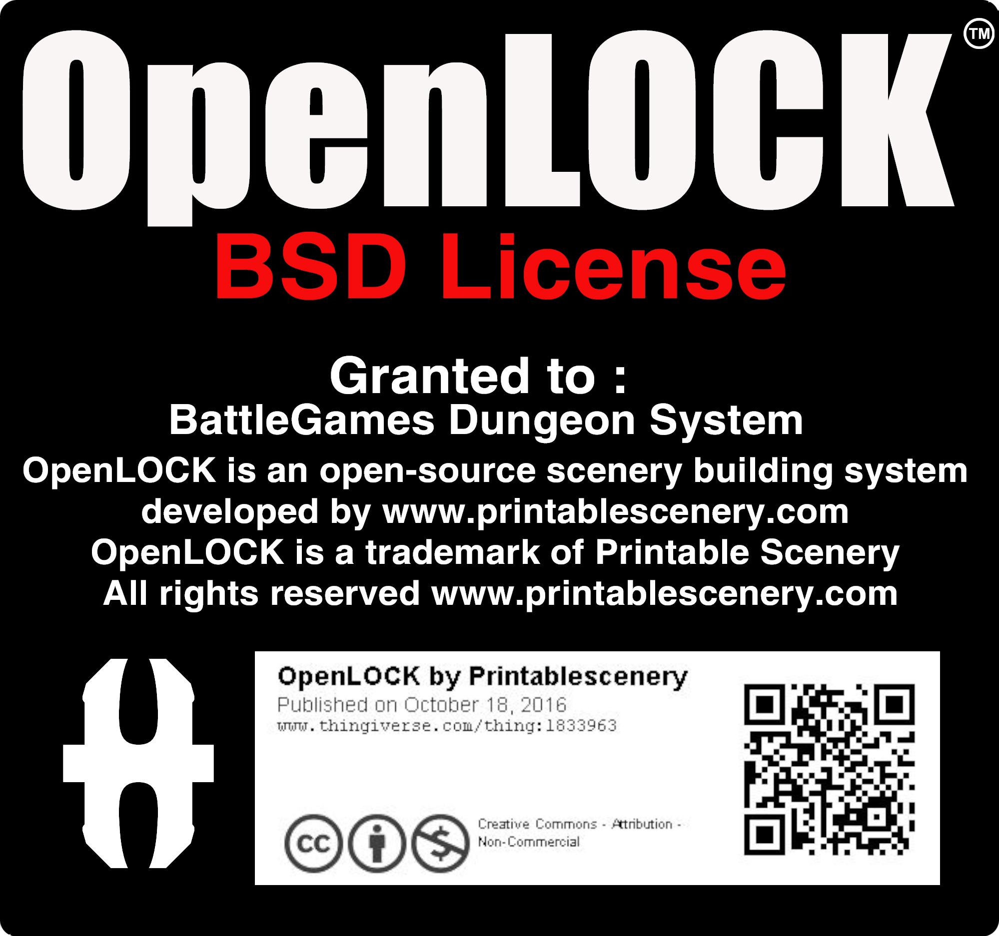 OpenLOCK license